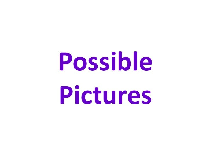 PossiblePictures