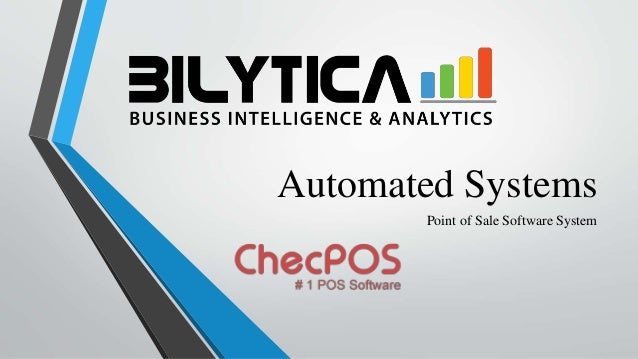 Automated Systems Point of Sale Software System
