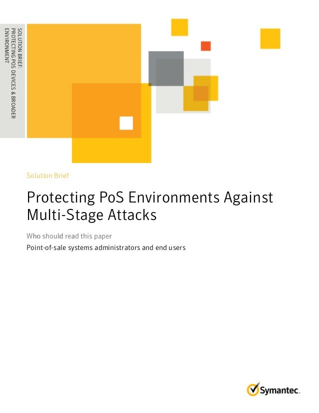 SOLUTION BRIEF: Protecting POS Environments Against Multi-Stage Attacks