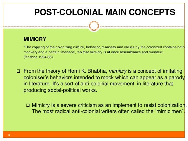 the effects of post colonialism and hybridity Introduction to postcolonial theory, including ideas by edward said, gayatri spivak, and homi bhabha.