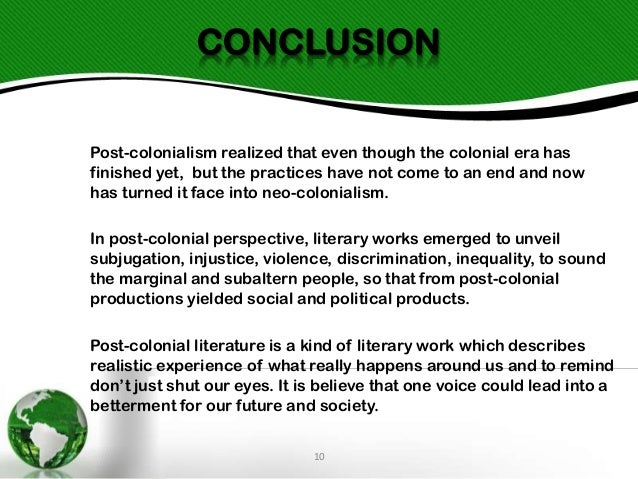 post colonialism Get information, facts, and pictures about postcolonialism at encyclopediacom make research projects and school reports about postcolonialism easy with credible articles from our free, online encyclopedia and dictionary.