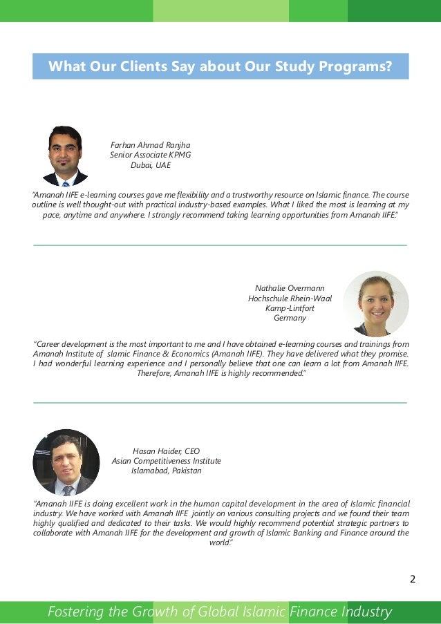 Post Graduate Diploma In Islamic Banking And Financepdf
