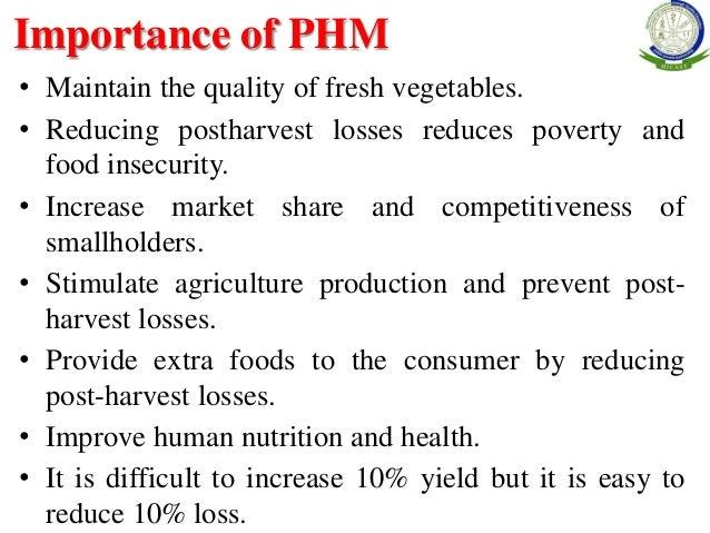 Post harvest management of vegetables pdf