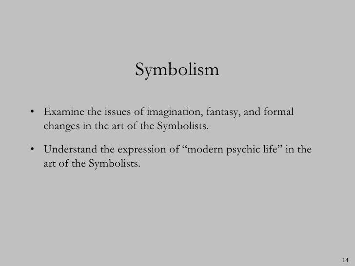 Post Impressionism And Symbolism