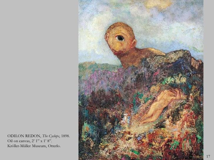 Best Odilon Redon The Cyclops Gallery - Transformatorio.us ...