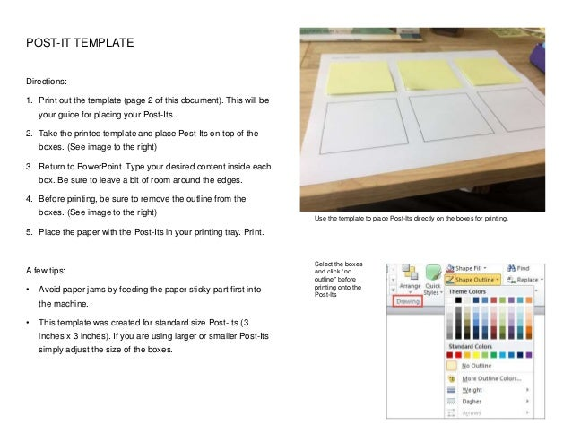 photograph regarding Printable Post Its titled Do-it-yourself Printable Article-Its