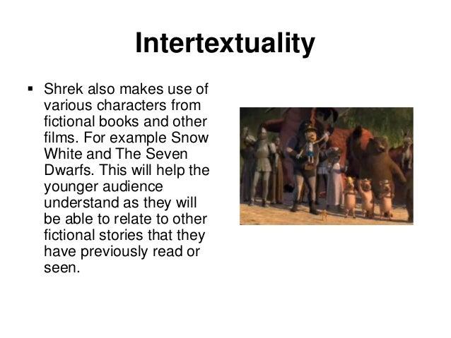 Fairy tale portfolio task 6: shrek & intertextuality ppt video.