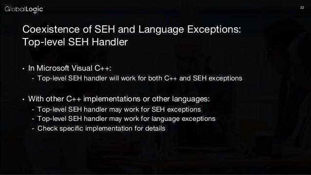 Set invalid parameter handler release