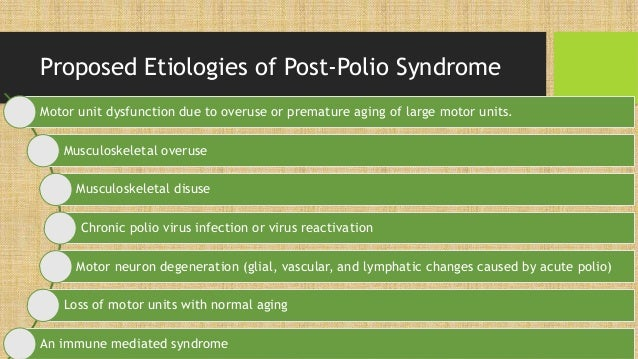Post polio syndrome for Symptoms of motor neuron disease mayo clinic