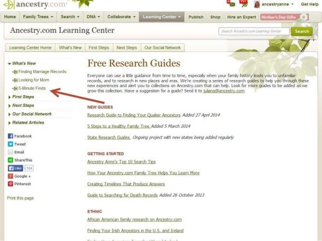 searching successfully to reveal your ancestor's story on