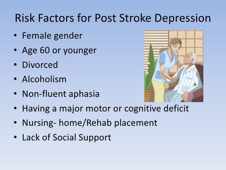 Post stroke depression