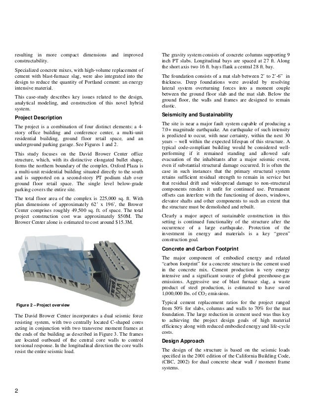 Post Tension Concrete Walls : Post tensioned concrete walls frames for seismic resistance