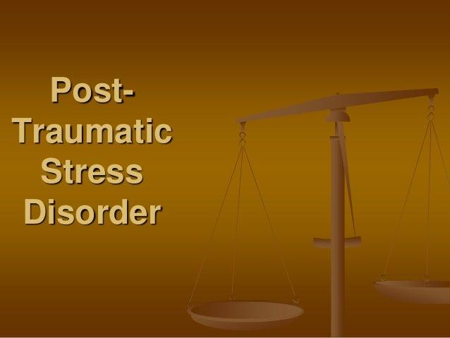 Posttraumatic Stress Disorder in Children