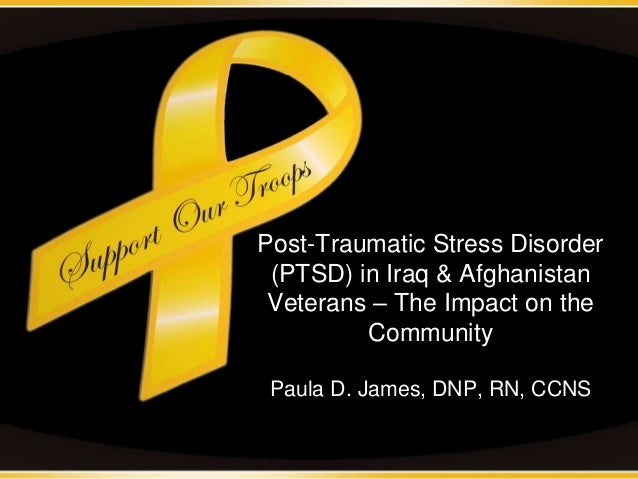 post traumatic stress disorder in veterans Post-traumatic stress disorder  for at least one month following a traumatic event however symptoms may not appear until several months or even years later .