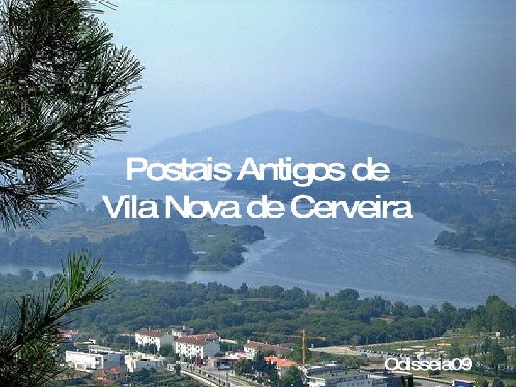 Postais Antigos de Vila Nova de Cerveira Odisseia09