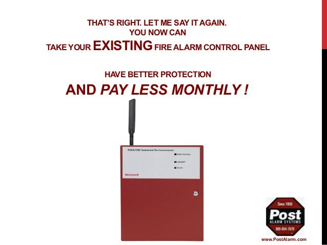 post alarm systems solutions for fire alarm monitoring