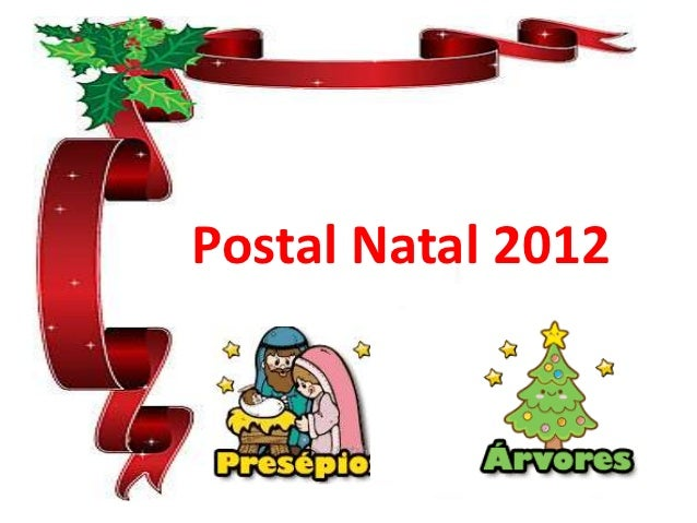 Postal Natal 2012
