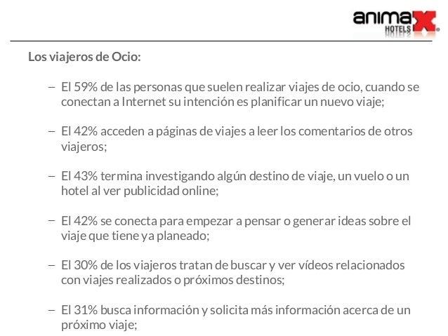 ¿Qué información buscan los viajeros online? Slide 3