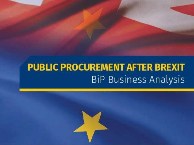 Many of our public and private sector clients have been asking how the EU referendum vote will impact public sector procur...