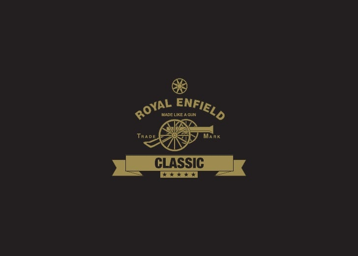 Postcard - Royal Enfield Classic
