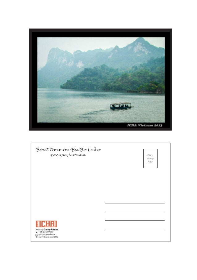 Boat tour on Ba Be LakeBac Kan, VietnamPhoto by Giang Pham+84 122 5777 883gk2102@gmail.comwww.flickr.com/gk2102Placestamph...