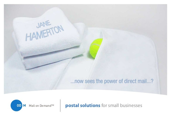 Mail on Demand™   postal solutions for small businesses