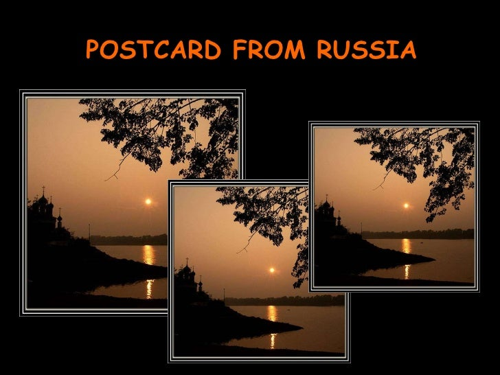 POSTCARD FROM RUSSIA