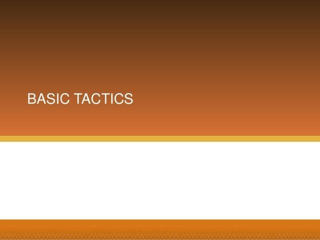 Search Mojo BASIC TACTICS
