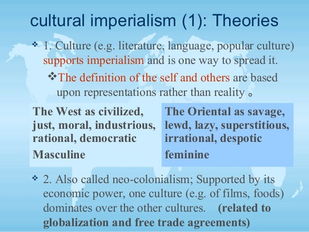 globalisation is a euphamism for neo colonialism Imperialism and globalization on monthly review   pimperialism is not a stage, not even the highest stage, of capitalism: from the beginning pimperialism is not a stage, not even the highest stage, of capitalism: from the beginning, it is inherent in capitalism's expansion.