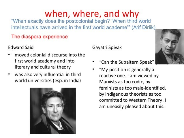 edward said postcolonialism essay Edward said the myth of 'the clash of civilizations' media education foundation transcriptchallenging media  essay but his book as well,.