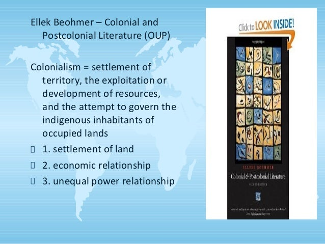 Postcolonialism Introduction - Background