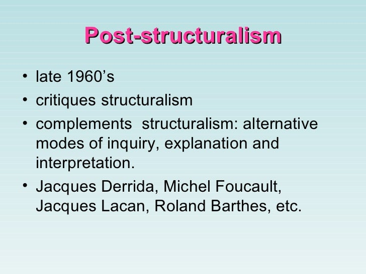 structuralism and feminist theory in the Queer theory's origin is hard to clearly define, since it came from multiple critical  and cultural contexts, including feminism, post-structuralist.