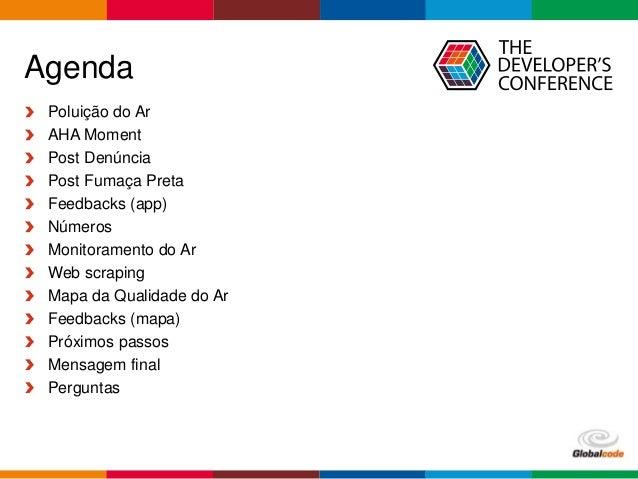 TDC 2016 São Paulo - Trilha Smart Cities - Post Denúncia, o poder da mudança está nas nossas mãos! Slide 2
