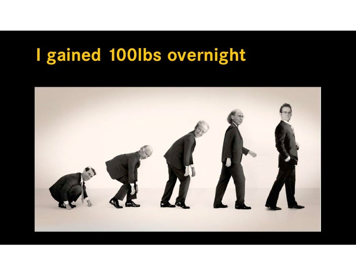 I gained 100lbs overnight