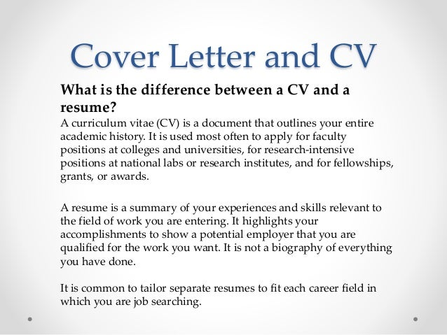 what is the difference between cv and cover letter vari job hunting 101 for postdoctoral fellows