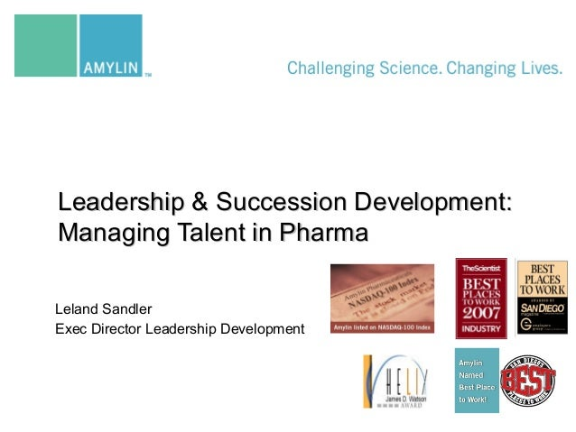Leland Sandler Exec Director Leadership Development Leadership & Succession Development:Leadership & Succession Developmen...