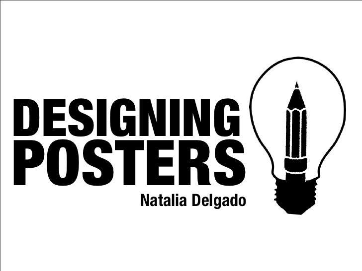 DESIGNINGPOSTERS     Natalia Delgado