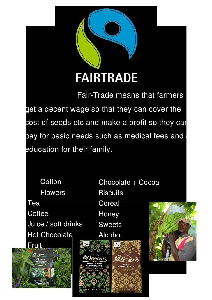 fair trade poster
