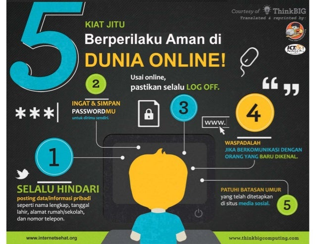 Poster Internet Sehat
