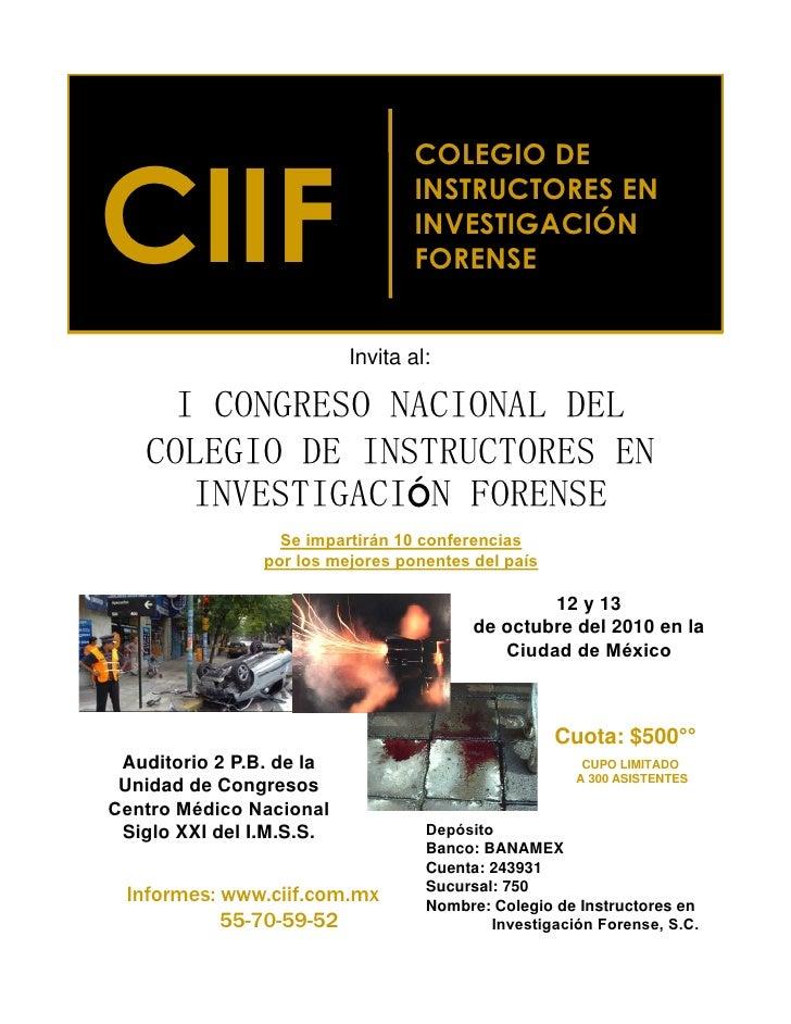 CIIF                                   COLEGIO DE                                   INSTRUCTORES EN                       ...