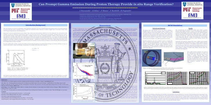 Introduction/Background Can Prompt Gamma Emission During Proton Therapy Provide  in situ  Range Verification? J   Styczyns...