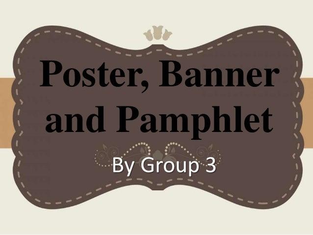 Poster Banner And Pamphlete Materi B Inggris Kelas Xi