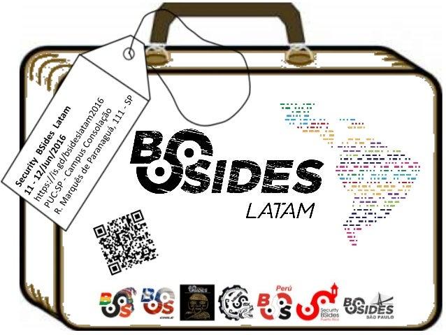 Poster BSides Latam 2016