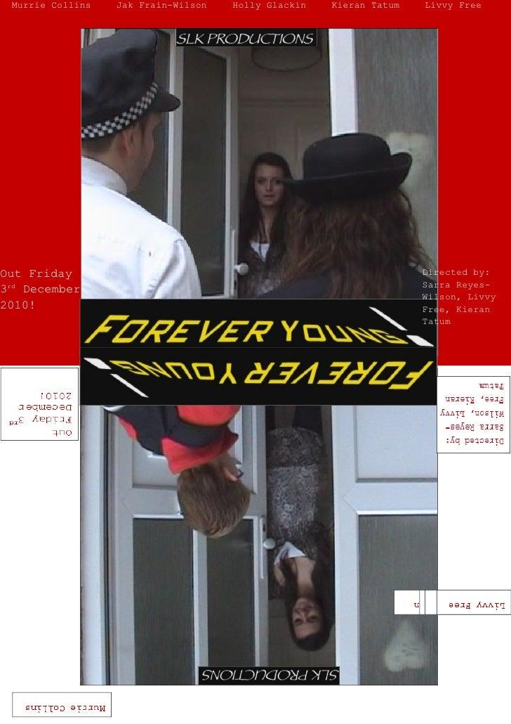 Murrie Collins   Jak Frain-Wilson   Holly Glackin   Kieran Tatum   Livvy FreeOut Friday                                   ...