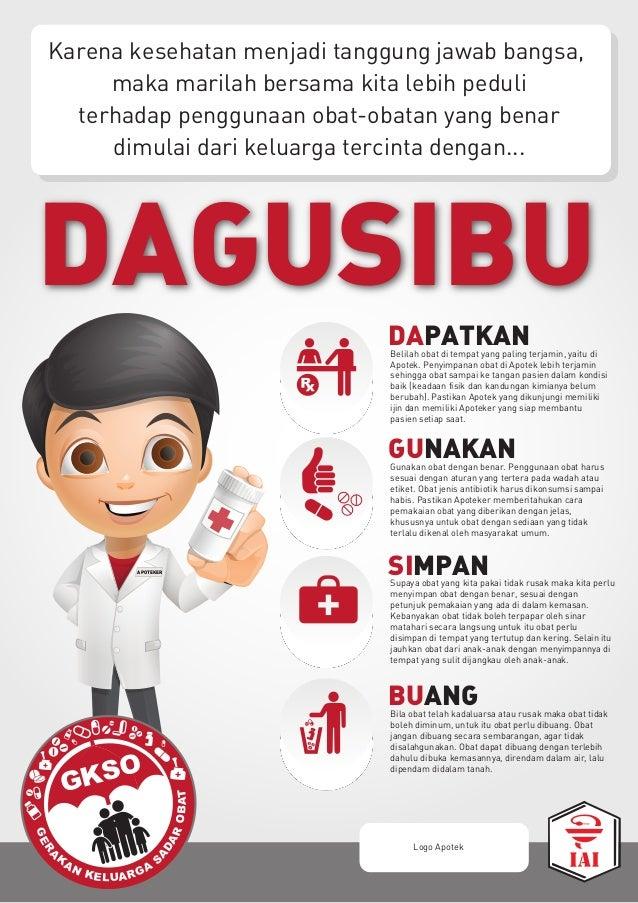 Karena kesehatan menjadi tanggung jawab bangsa, maka marilah bersama kita lebih peduli terhadap penggunaan obat-obatan yan...