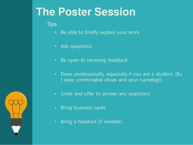 effective poster presentations Undergraduate research poster presentation tips making an academic poster presentation  effective research posters.