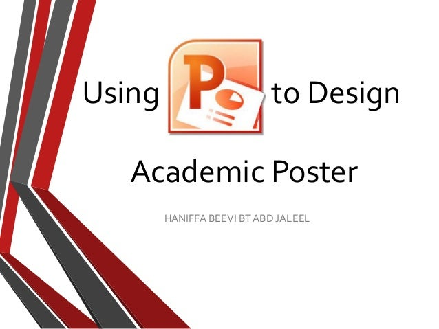 How To Design A Research Poster Presentation