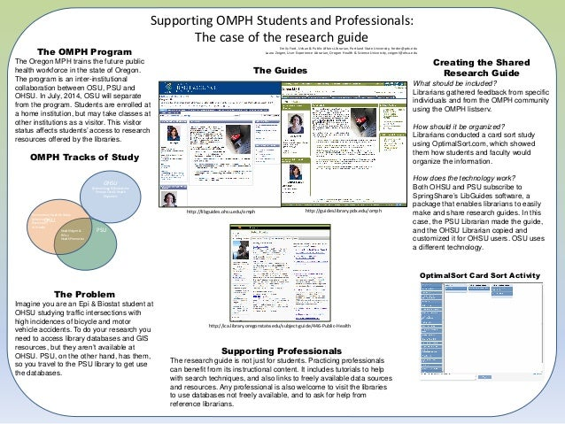 Supporting OMPH Students and Professionals:                                                                               ...