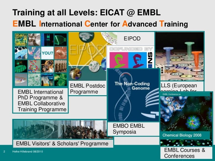 thesis advisory committee embl Doctoral thesis (md) 1984  07/06 - now chair, embl bioethics internal advisory committee  embl scientific strategy and management advisory committee.