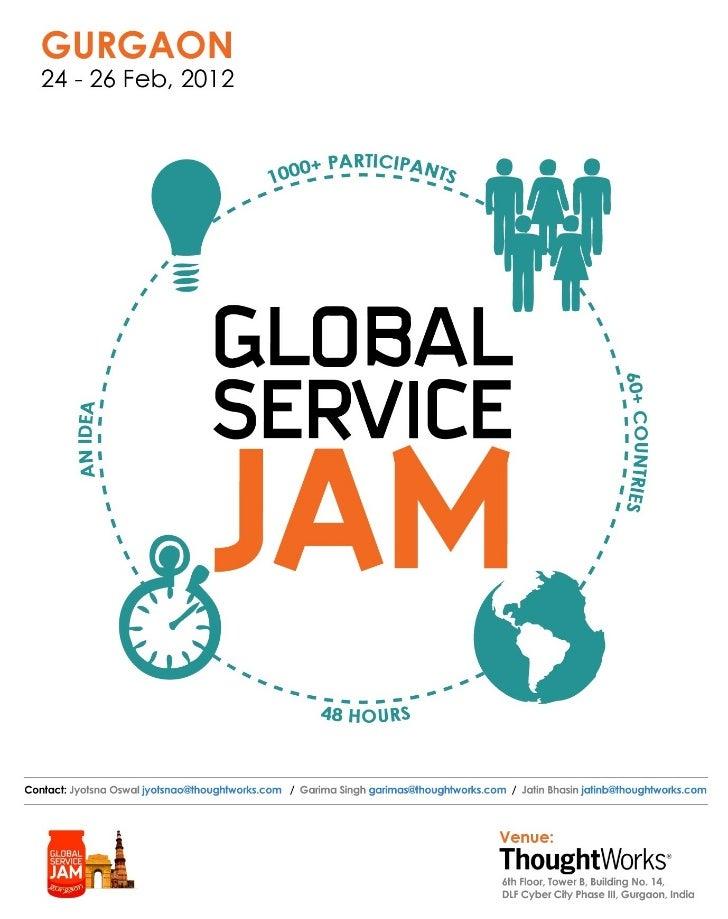Poster Global Service Jam